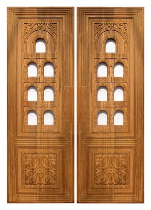 Pooja Room Doors Wooden Door Frame And Door Designs Of Pooja Room
